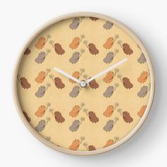 guinea pig daisy pattern