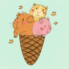 guinea pig ice cream