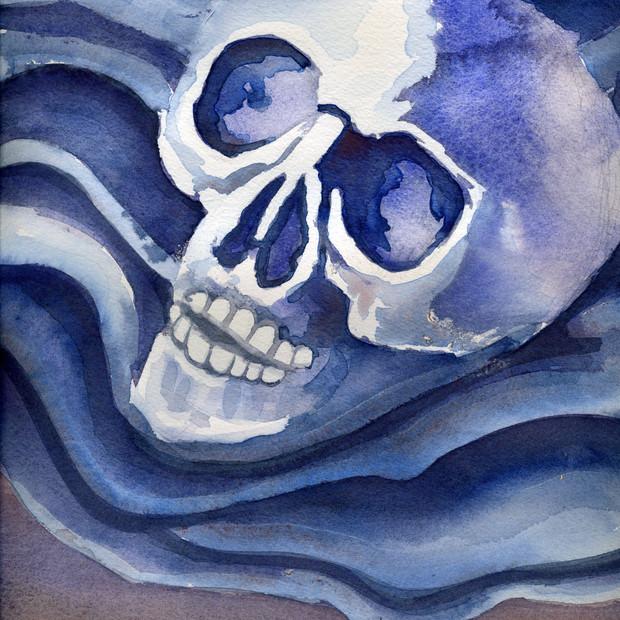 Skull on Cloth