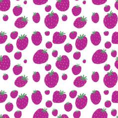 purple strawberry pattern