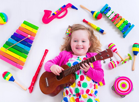 Learning with Music at Pinebrook Montessori Daycare