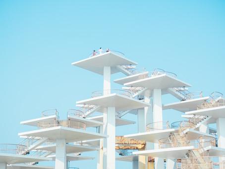 構造物がおもしろい、富津岬へ!