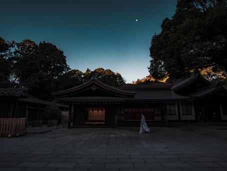 早朝の明治神宮