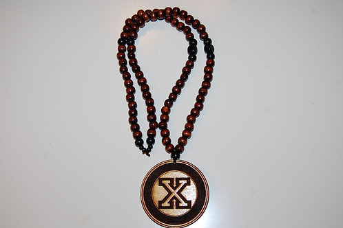 Natural Wood X Medallion