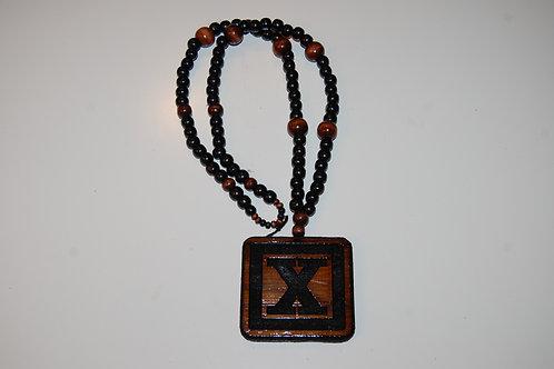 Mahogany X Medallion