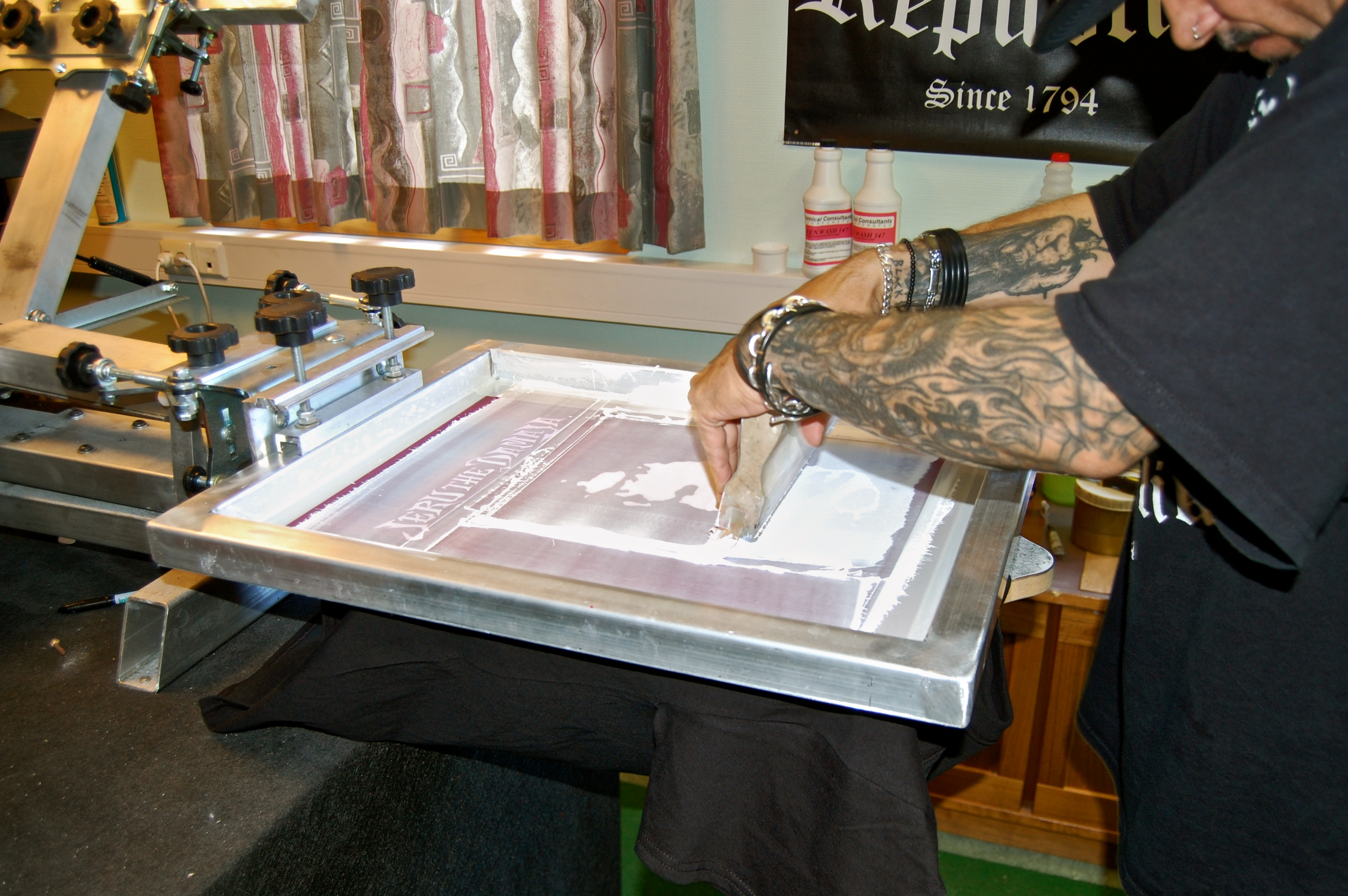 Applying Ink