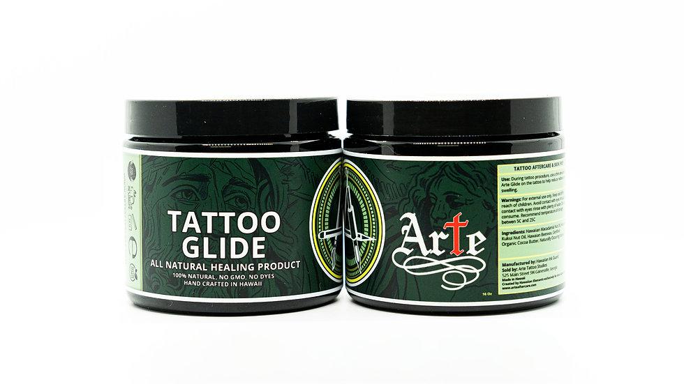 Arte Tattoo Glide - Large (16oz) Case of 2
