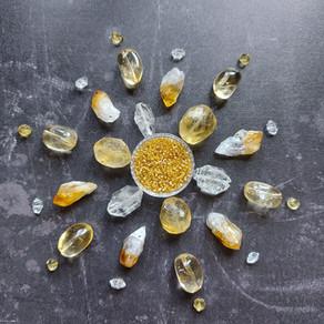 Citrine Gemstone Mandala