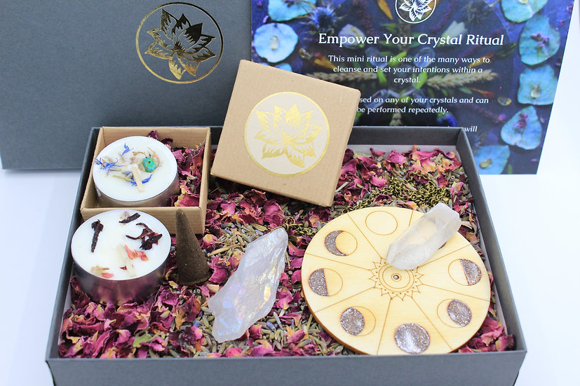 Empower Your Crystal Ritual Pack