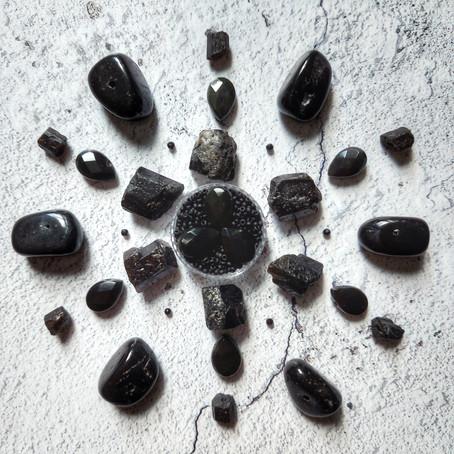 Black Lives Matter Gemstone Mandala
