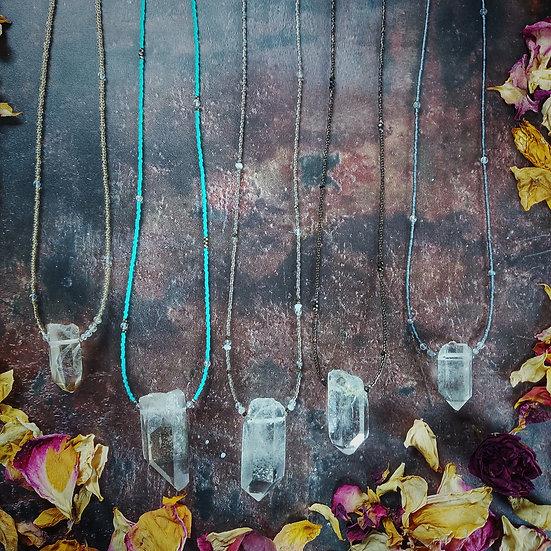 Garden Quartz Necklaces
