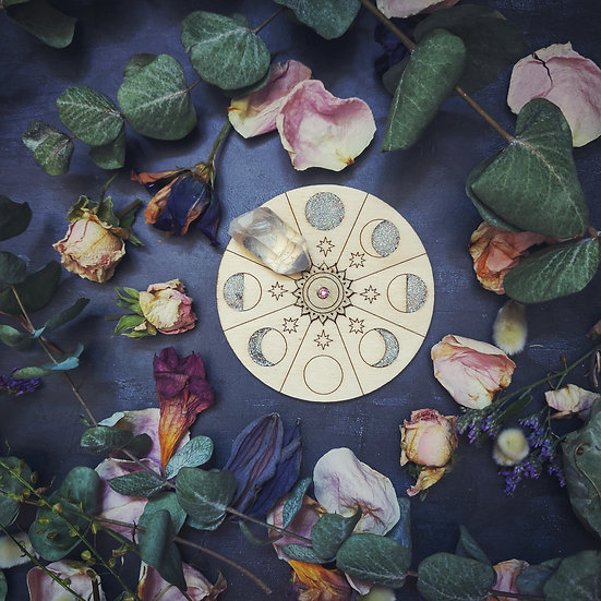 Moon Plaque & Empower Your Crystal Ritual Kit.