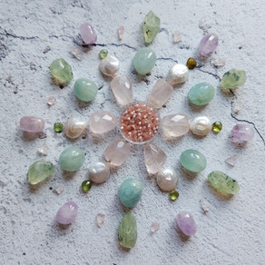 Easter Gemstone Mandala