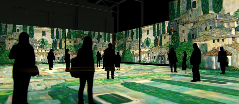 """Мультимедийная выставка """"Густав Климт. Золото модерна"""""""