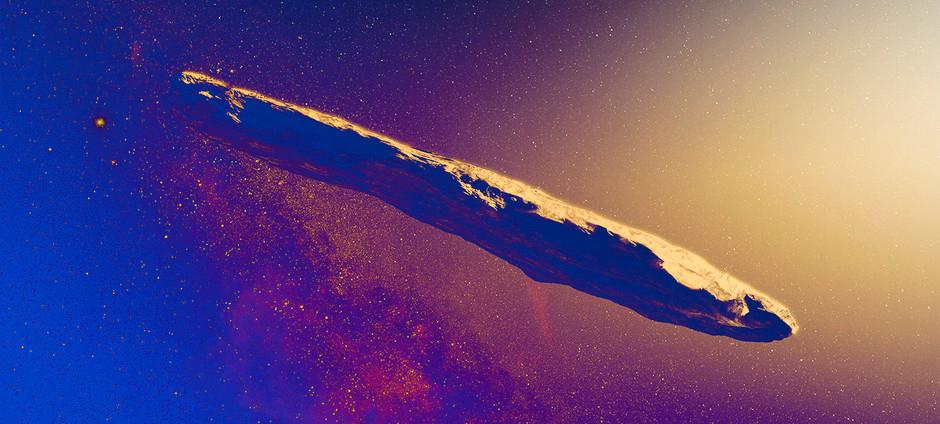 Неужели Землю посетил инопланетный космический корабль?