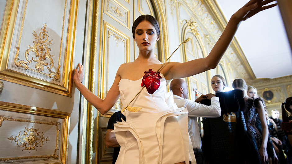Farhad Re sfila a Parigi