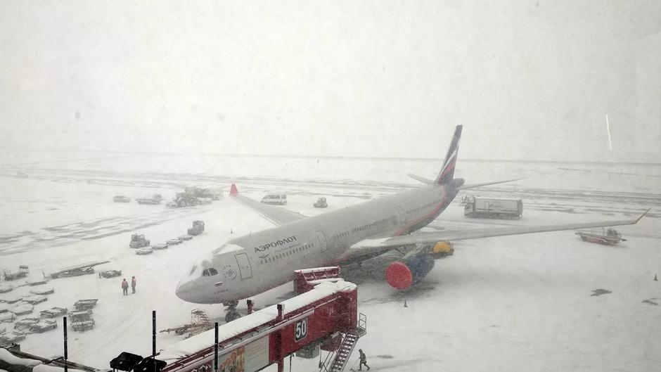 В Москве задержали или отменили более 20 авиарейсов