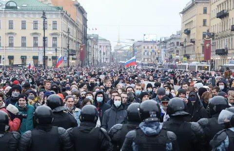 В МВД оценили число участников акции протеста в Москве