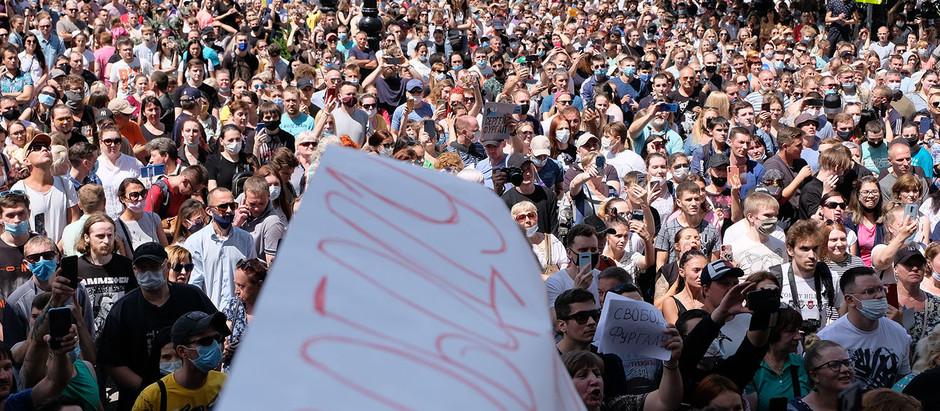 """Российские журналисты транслируют """"тихие передачи"""", чтобы избежать судебного преследования"""