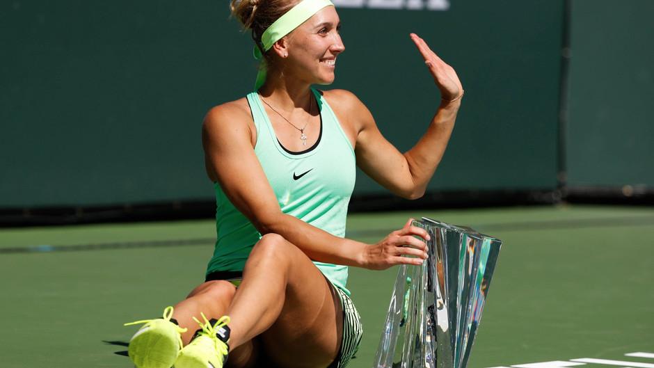Теннисистка Веснина вернется в спорт на турнире в Санкт-Петербурге