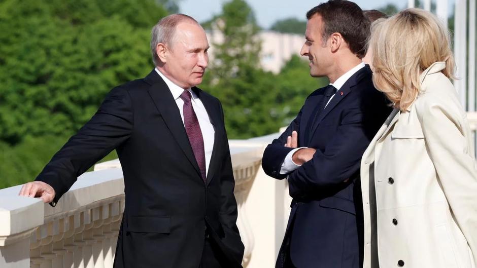 Путин рассказал об отказе Макрона сотрудничать по делу Навального