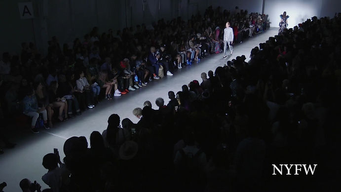 HIROMI ASAI Spring-Summer 2020 Colelction at New York Fashion Week with Flying Solo