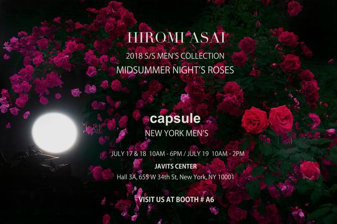 Capsule Show NY Men's 18 SS