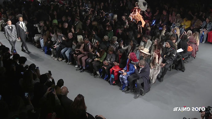 HIROMI ASAI Fall - WInter 2020/21 Colelction at New York Fashion Week with Flying Solo designers