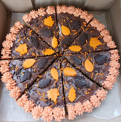 Fall Cookie Pizza