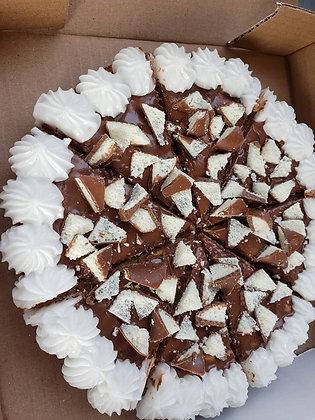 White Aero Cookie Pizza