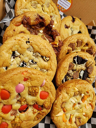 Inside Out Box of 8 Assorted Cookies