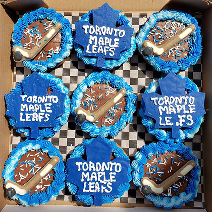 Toronto Maple Leafs box of 9