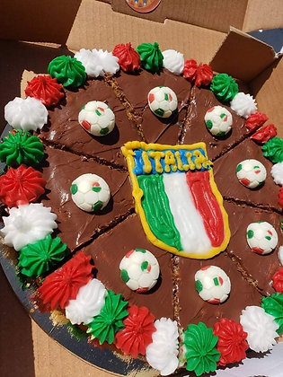 Soccer Cookie Pizza
