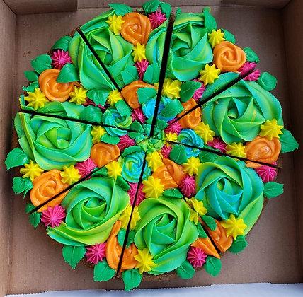 Bouquet Cookie Pizza