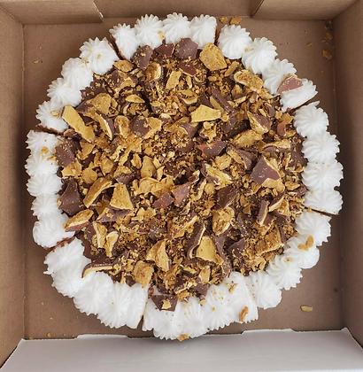 Crispy Crunch Cookie Pizza