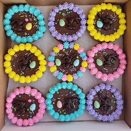 Easter box of 9 Cookie Pizzas