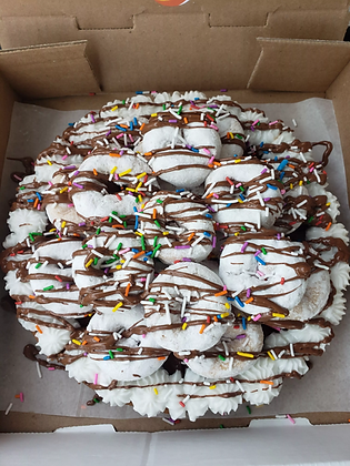 Donut Overload Cookie Pizza