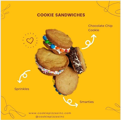 Cookie Sandwich box of 4
