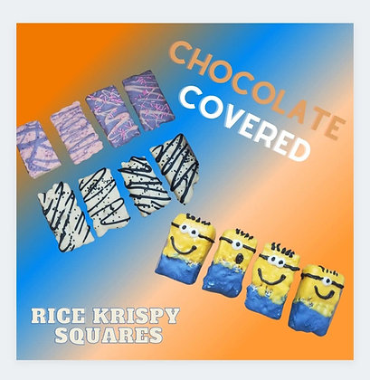 Chocolate Covered Rice Krispies Box of 15