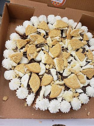 Vanilla oreo with white chocolate oreo bites