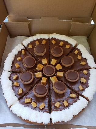 Toffifee Cookie Pizza