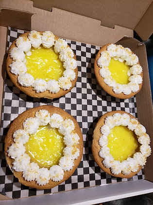 Lemon Cookie Pies