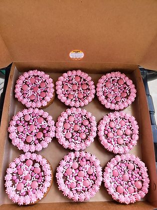 It's A Girl Baby Shower Cookie Pizzas
