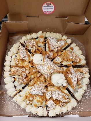 Cannoli Pizza Cookie