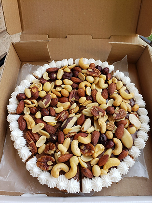 The Nut Buster Cookie Pizza