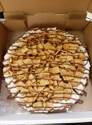Cinnamon crunch cereal Cookie Pizza