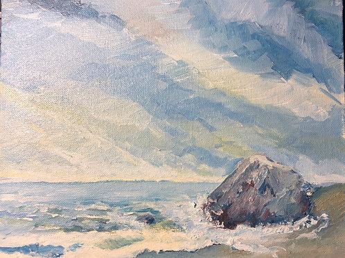 """Cabo San Lucas, MX, 8x10"""" plein air oil painting"""