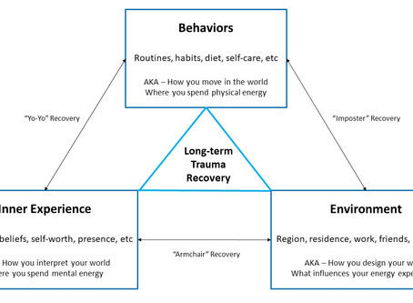 Member Follow-up! Axes of Trauma Recovery