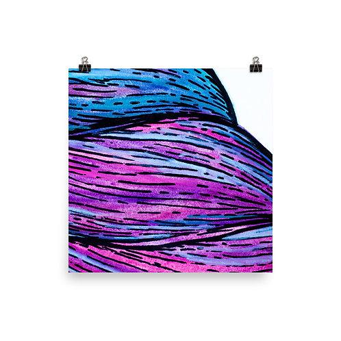 Technicolor - photo paper poster