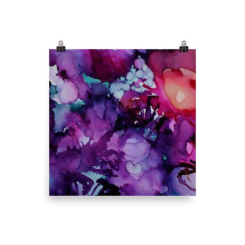 Violet Garden - Photo Paper Poster